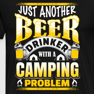 Just Another Beer Drinker - Camping - Men's Premium T-Shirt