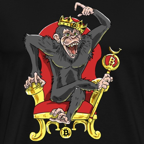 Bitcoin Monkey King - Beta Edition - Men's Premium T-Shirt
