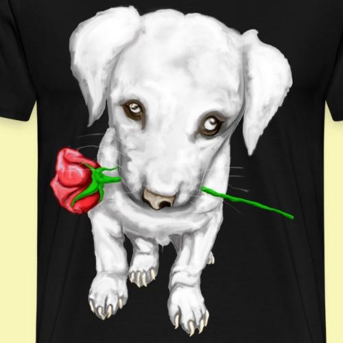 Rose Puppy - Men's Premium T-Shirt