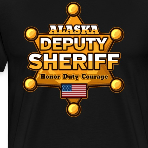 Alaska Deputy Sheriff - Men's Premium T-Shirt