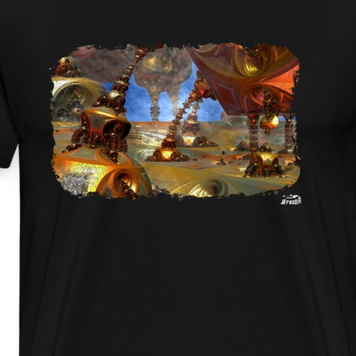 Muta v4, Landing - Men's Premium T-Shirt