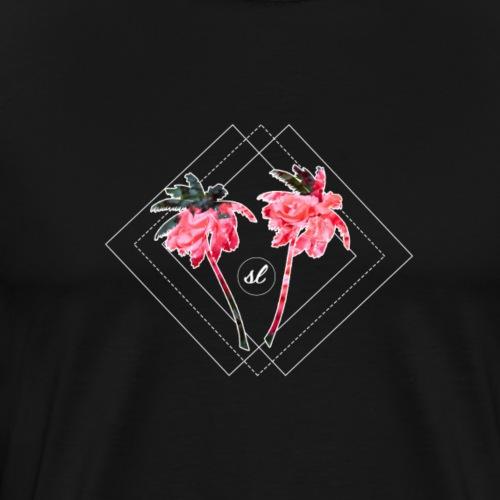 SL Pink Palms - Men's Premium T-Shirt
