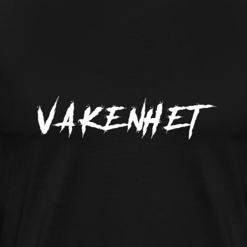 VAKENHET V2 WHITE - Men's Premium T-Shirt