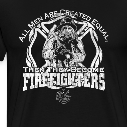All Men Firefighters - Men's Premium T-Shirt
