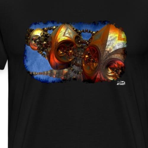 Muta v11, Fractal Ship - Men's Premium T-Shirt