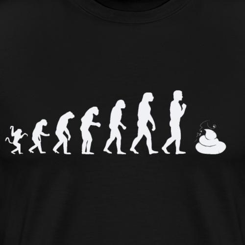 Best Evolution of man parody - Men's Premium T-Shirt