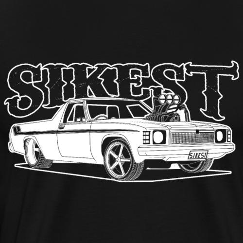 SIKEST - HJ UTE BLOWN BIG BLOCK DESIGN - Men's Premium T-Shirt