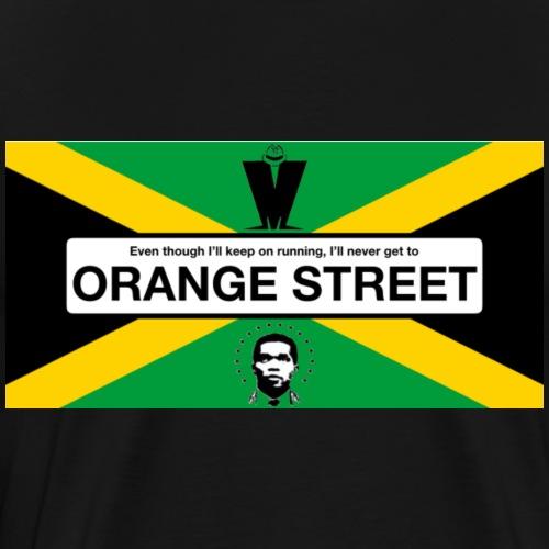 Orange Street JA - Men's Premium T-Shirt