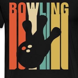 Vintage Bowling - Men's Premium T-Shirt