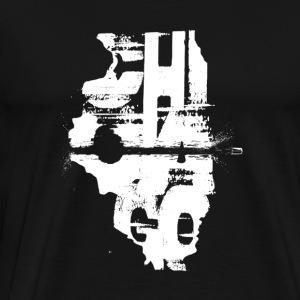 chicagoland tribune - Men's Premium T-Shirt