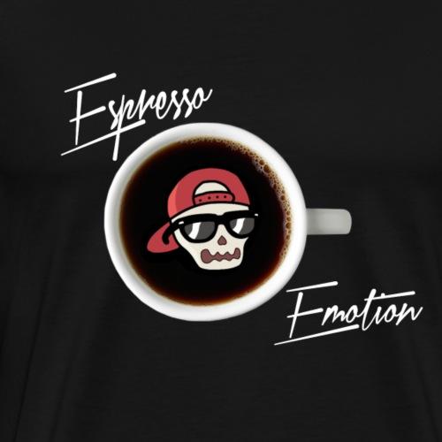 Espresso Emotion x Skeleton - Men's Premium T-Shirt