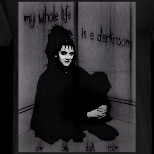 My Whole Life is a Dark Room - Men's Premium T-Shirt
