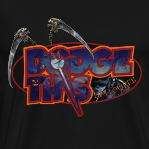 Dodge This Halloween - Men's Premium T-Shirt