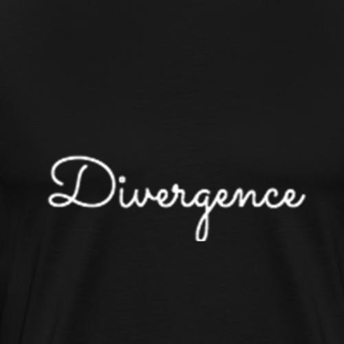 Divergence Merchandise Edition 4b White - Men's Premium T-Shirt