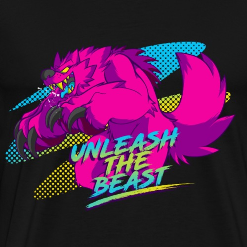 - Unleash the Beast - - Men's Premium T-Shirt