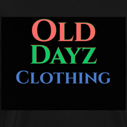 Old Day Plain Design - Men's Premium T-Shirt