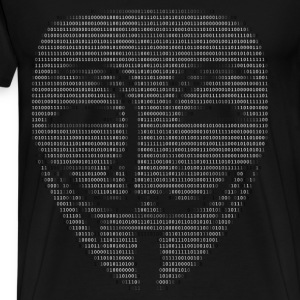 Guy Fawkes Mask Binary - Men's Premium T-Shirt