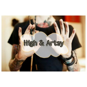 High and Artsy - Men's Premium T-Shirt