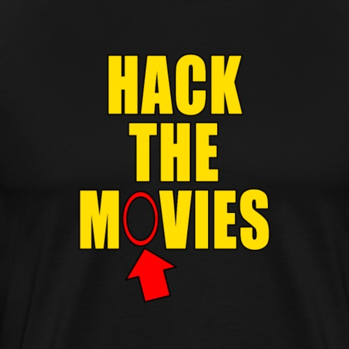 Hack the Movies Things you missed design - Men's Premium T-Shirt