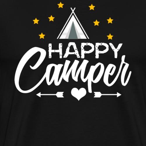 Happy Camper - Men's Premium T-Shirt