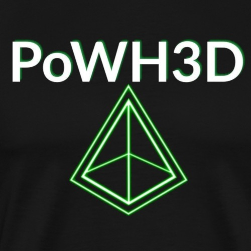 POWH3D GREEN - Men's Premium T-Shirt