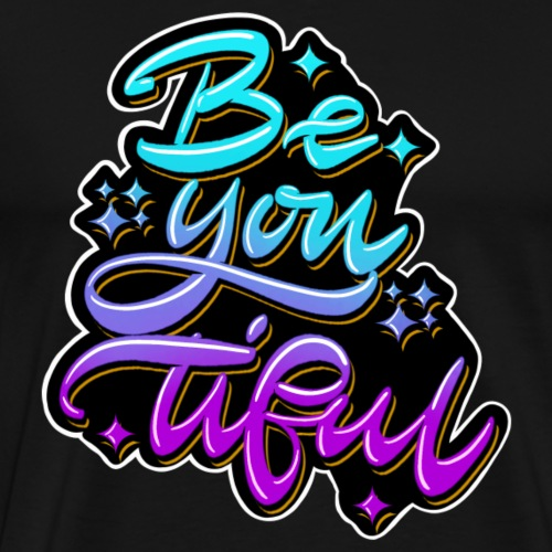 beYOUtiful - Men's Premium T-Shirt