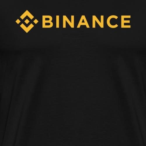 Binance (BNB) Coin Crypto Logo - Men's Premium T-Shirt