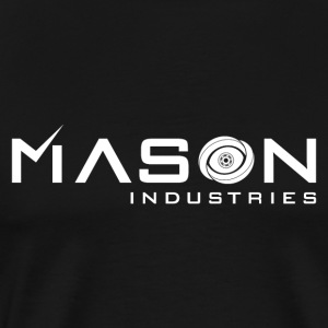 Timeless - Mason Industries Re Imagined Logo - Men's Premium T-Shirt