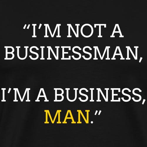 Businessman - Men's Premium T-Shirt