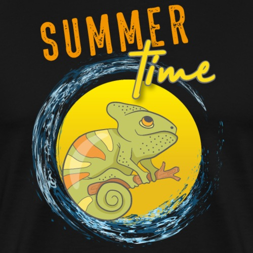 Summer chameleon - Men's Premium T-Shirt
