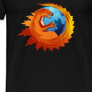 Godzilla Browser - Men's Premium T-Shirt