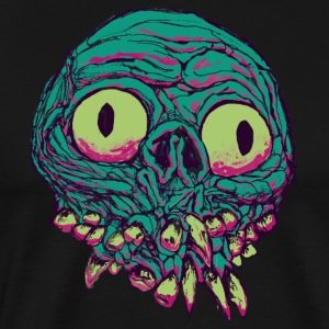 Bugeyed Freak - Pink 'n Teal - Men's Premium T-Shirt