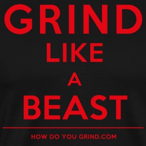 It's A Mindset - GrindLike A Beast Red - Men's Premium T-Shirt