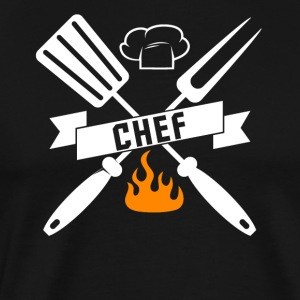 Barbeque BBQ Chef - Men's Premium T-Shirt