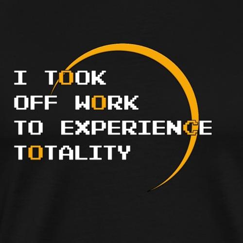 Took off Work Pixel - Men's Premium T-Shirt