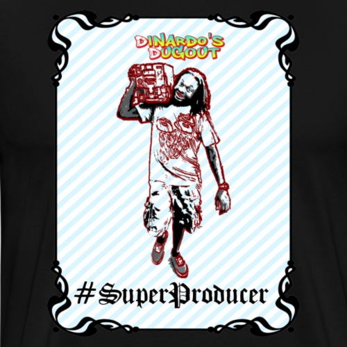 #SuperProducer - Men's Premium T-Shirt