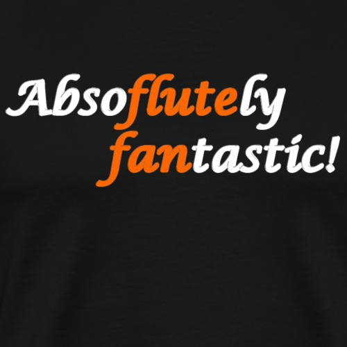 Flute Fan T-shirts and Gifts - Men's Premium T-Shirt