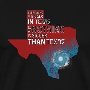 Texas Strong Nothing Is Bigger Than Texas Harvey 2 - Men's Premium T-Shirt
