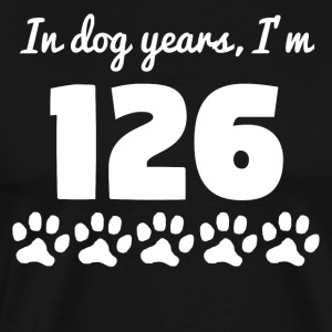 Dog Years 18th Birthday - Men's Premium T-Shirt