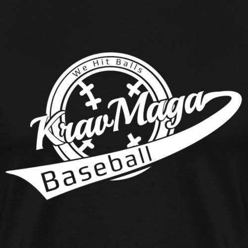 Krav Maga Baseball - We Hit Balls - Men's Premium T-Shirt