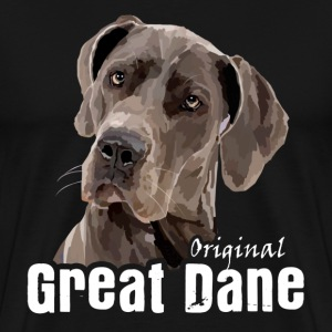 Great Dane Tshirt - Men's Premium T-Shirt