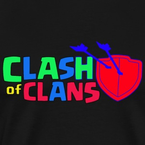 Clash of Clans logo Love - Men's Premium T-Shirt