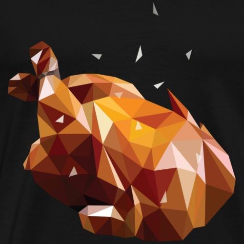 Turkey Polygon - Men's Premium T-Shirt