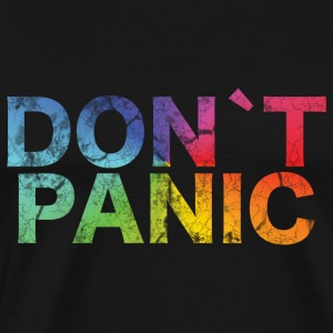 Birthday T-Shirt - Don´t Panic! - Men's Premium T-Shirt
