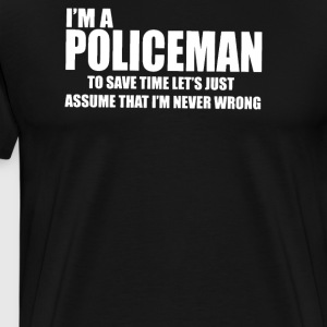 I Am A Policeman - Men's Premium T-Shirt