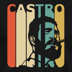 Retro Castro - Men's Premium T-Shirt