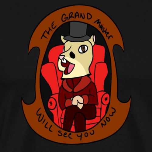 The Grand master t shirt design - Men's Premium T-Shirt