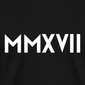 MMXVII White - Men's Premium T-Shirt