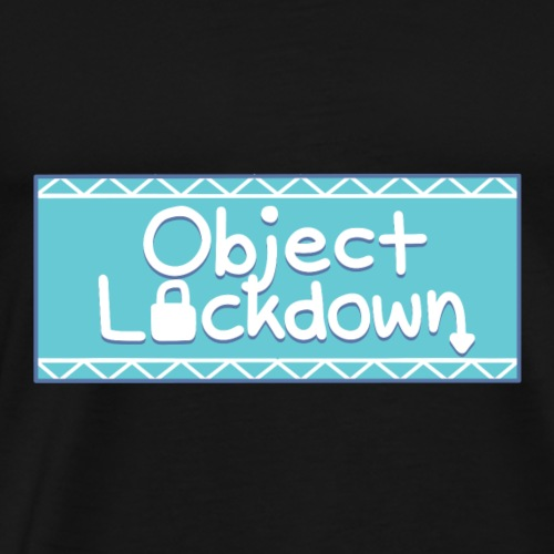Object Lockdown Logo - Men's Premium T-Shirt