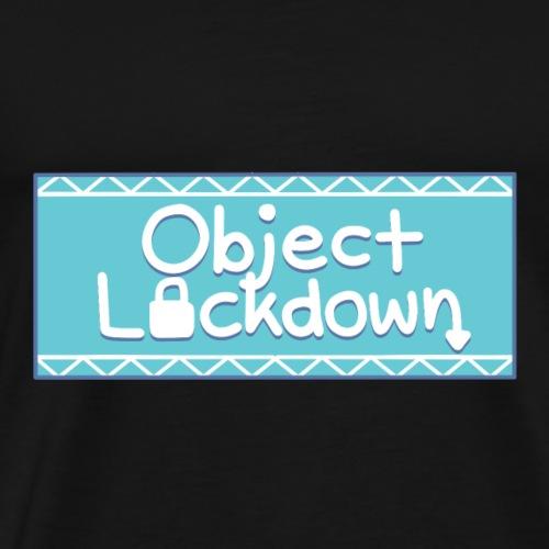 Object Lockdown Logo - Men's Premium T-Shirt